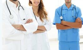 Portrait des principaux membres du centre médical Image libre de droits