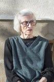 Portrait des quatre-vingt-dix grand-mamans d'années Photo libre de droits