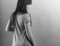 Portrait des reizenden Jugendlichmädchens Stockfotos