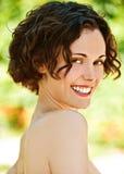 Portrait des reizenden Mädchens Lizenzfreies Stockbild