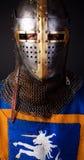 Portrait des Ritters stockbild