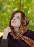 Portrait des romantischen Mädchens Lizenzfreie Stockbilder