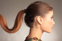 Portrait des schönen Brunette Lizenzfreie Stockfotografie