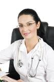 Portrait des schönen Doktors Lizenzfreies Stockbild