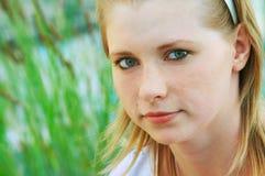Portrait des schönen gir Lizenzfreies Stockbild