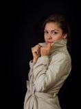 Portrait des schönen jungen Mädchens Lizenzfreies Stockfoto