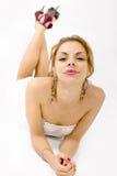 Portrait des schönen Mädchens Lizenzfreies Stockbild