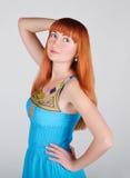 Portrait des schönen Mädchens Stockfotos
