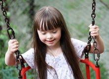 Portrait des schönen Mädchens Stockbild