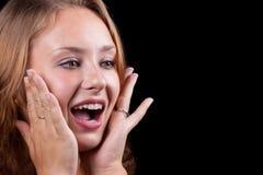 Portrait des schönen Mädchens. #7 Stockfoto