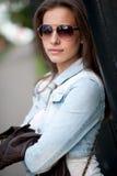 Portrait des schönen Mädchens Lizenzfreie Stockbilder