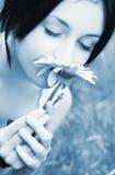 Portrait des Schönheitsmädchens Lizenzfreies Stockfoto