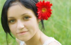 Portrait des Schönheitsmädchens Lizenzfreies Stockbild