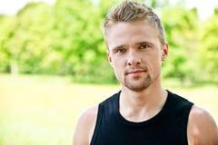 Portrait des schönen jungen Mannes Lizenzfreies Stockfoto