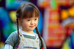 Portrait des schönen jungen Mädchens Stockfotos