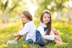 Portrait des soeurs de petites filles Images stock