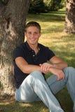Portrait des stattlichen jungen Mannes Lizenzfreies Stockbild