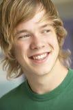 Portrait des Teenager-Lächelns Lizenzfreie Stockfotos
