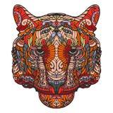 Portrait des Tigers lizenzfreie stockbilder