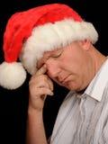 Portrait des traurigen Mannes Stockfotos