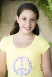 Portrait des Tween-Mädchens stockbild