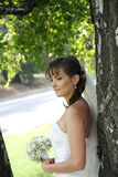 Portrait des ukrainischen Verlobten Stockfotos