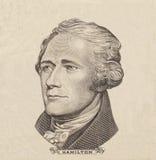 Portrait des US-Staatsmannes, -erfinders und -diplomaten Benjamin Franklin, wie er auf hundert Dollarscheingegenstücck schaut S P Stockfoto