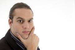 Portrait des verärgerten Geschäftsmannes Lizenzfreie Stockfotos