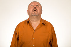 Portrait of a desperate man Royalty Free Stock Photography