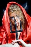 Portrait of a devil Royalty Free Stock Photos