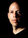 Portrait discret d'un homme Images libres de droits