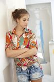 Portrait of DIY woman Stock Image