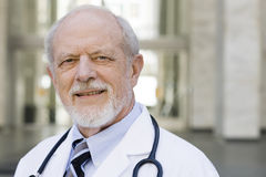 Portrait of Doctor Royalty Free Stock Images