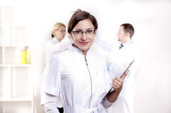 Portrait of doctor Royalty Free Stock Photo