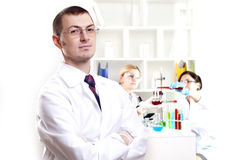 Portrait of the doctor Stock Photo