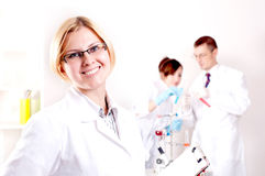 Portrait of the doctor Royalty Free Stock Photography
