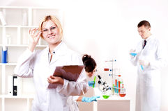 Portrait of doctor Royalty Free Stock Image