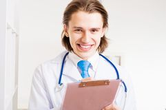 Portrait of a doctor Royalty Free Stock Photography