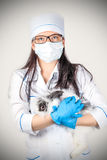 Portrait of a doctor Royalty Free Stock Image