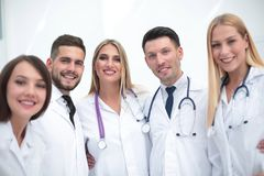 Portrait of smiling medical team Royalty Free Stock Photography