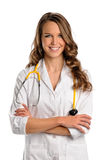Portrait of Doctor or Nurse Royalty Free Stock Images