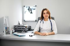 Portrait of a doctor's office Stock Image