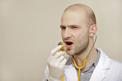 Portrait of a doctor Royalty Free Stock Images
