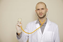 Portrait of a doctor Stock Photos