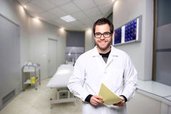 Portrait of a doctor Stock Photography