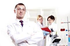 Portrait of doctors Stock Image