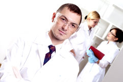 Portrait of doctors Stock Photo