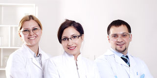 Portrait of doctors Stock Photography