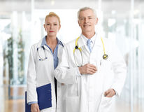Portrait of doctors. Stock Images