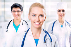 Portrait of doctors Royalty Free Stock Photography